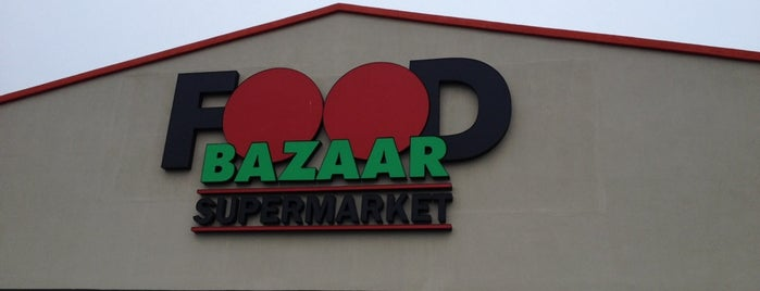 Food Bazaar Supermarket is one of Friends' Favs.