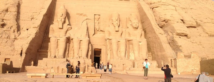 Abu Simbel Temples is one of Egypt..