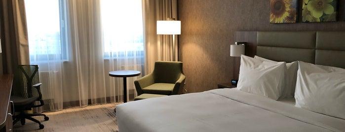 Hilton Garden Inn Orenburg is one of Lieux qui ont plu à iNastasia.