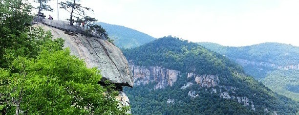 Chimney Rock State Park is one of Day in Asheville.