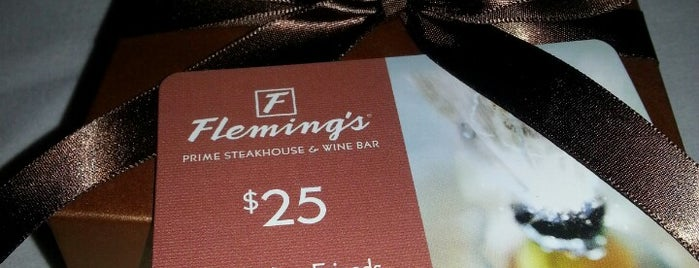 Fleming's Prime Steakhouse & Wine Bar is one of milwaukee.