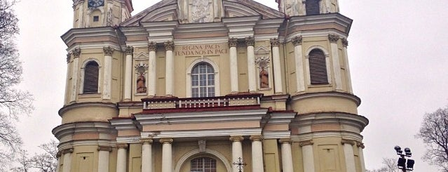 Šventų apaštalų Petro Ir Povilo Bažnyčia | Church of St Peter and St Paul is one of Вильнюс.