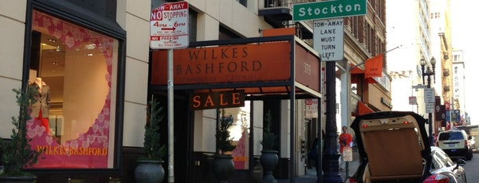 Wilkes Bashford is one of Men's shoe stores.