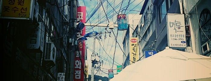 광복동먹자골목 is one of Lugares favoritos de Eun Jung.