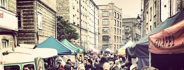 Whitecross Street Market is one of London's great locations - Peter's Fav's.