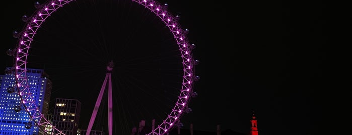 London Eye / Waterloo Pier is one of Must Visit London.