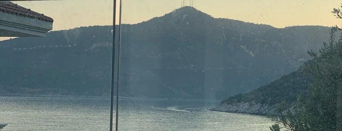 Kalamar Koyu is one of Kalkan - Kaş.
