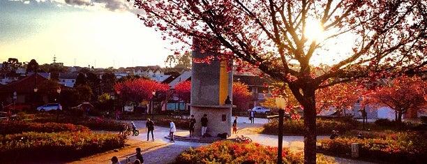 Praça Tsunessaburo Makiguti is one of Lucas'ın Beğendiği Mekanlar.
