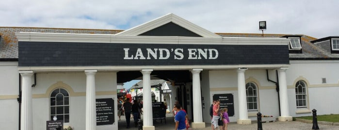 Land's End is one of Cornwall.