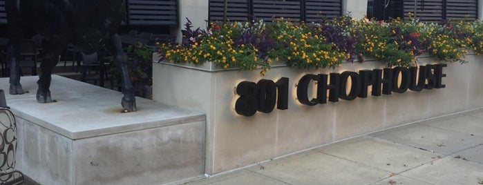 801 Chophouse is one of Date night.