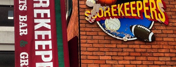 Scorekeepers Sports Grill and Pub is one of Ann Arbor Delivery.