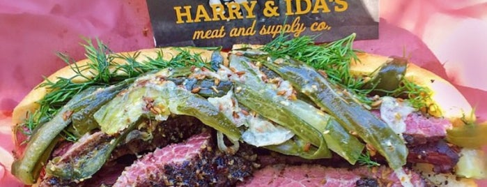 Harry & Ida's Meat and Supply Co. is one of In the states.