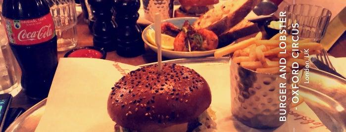 Burger & Lobster is one of LDN - Langham.