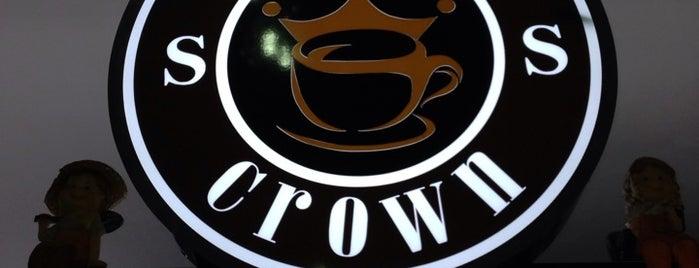 Coffee S Crown is one of Halil G.'ın Beğendiği Mekanlar.
