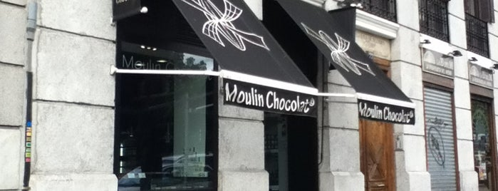 Moulin Chocolat is one of Madrid-Tips.