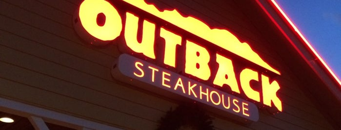 Outback Steakhouse is one of Kelli : понравившиеся места.