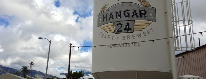 Hangar 24 Craft Brewery is one of Redlands.