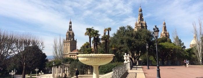 Jardins de Joan Maragall is one of Ruta a Sants-Montjuïc. La ruta verda.