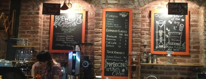Mambocino Artisan Coffee is one of # istanbul.