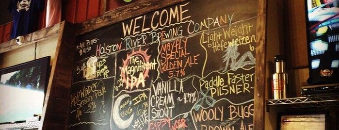 Holston River Brewing Company is one of Posti salvati di Rachel.