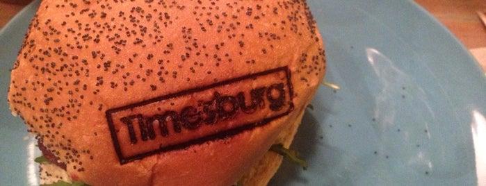 Timesburg is one of hamburguer bcn.