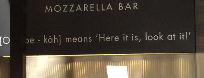 Obika Mozzarella Bar - Beverly Center is one of สถานที่ที่ Sultan ถูกใจ.