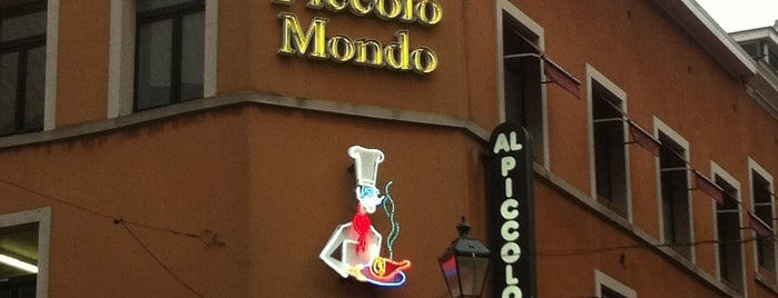 Al Piccolo Mondo is one of La Cuina de Mindundi.