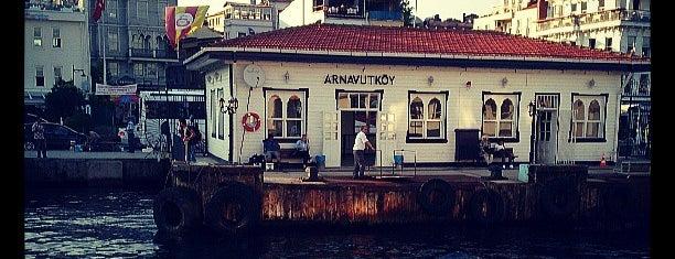 Arnavutköy İskelesi is one of Tempat yang Disukai Pelin.