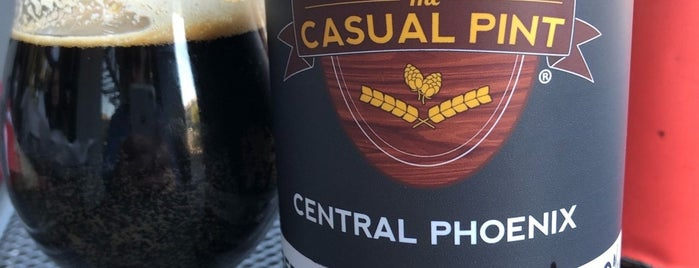 The Casual Pint Central Phoenix is one of Lieux qui ont plu à Jefe.