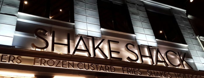 Shake Shack is one of Best Places.