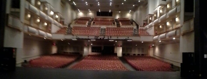 Curtis M. Phillips Center for the Performing Arts is one of dos....