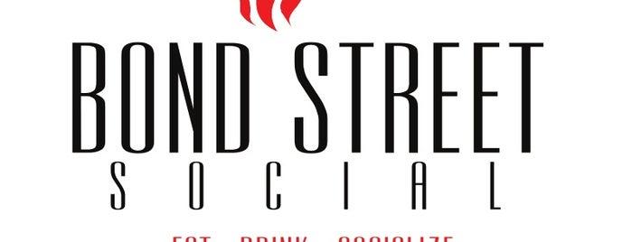 Bond Street Social is one of Summer Stroll Venues.