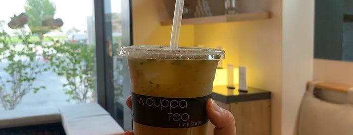 Acuppa Tea is one of Lugares favoritos de Omar.