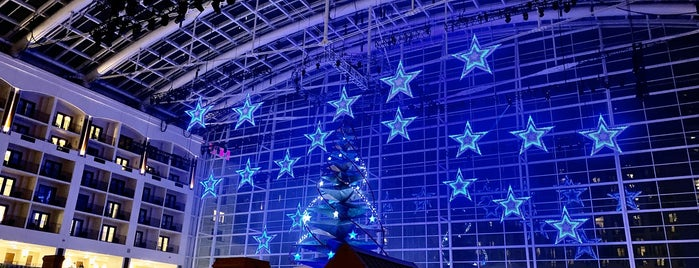 Star Entrance | Gaylord Hotel at National Harbor is one of places to be in DC.