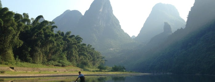 Li River is one of China highlights.