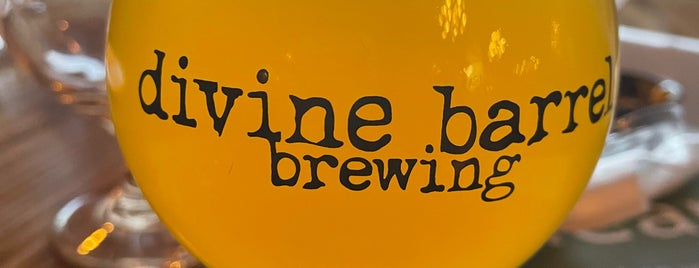 Divine Barrel Brewing is one of NC Craft Breweries.