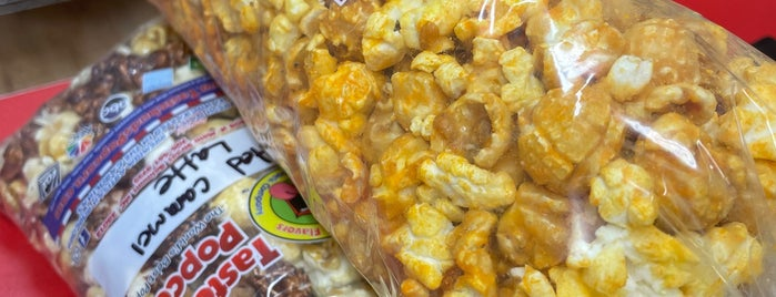 Tastebuds Popcorn is one of Gaston County Favorites.