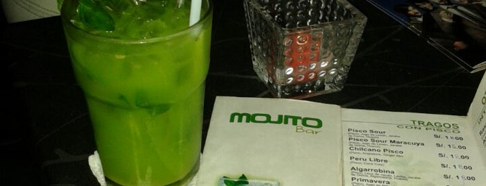 Mojito Bar & Lounge is one of Bares de Lima.