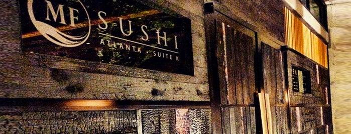 MF Sushi Atlanta is one of Locais curtidos por Dali.