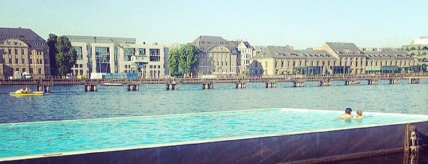 Badeschiff Berlin is one of Bucket List ☺.