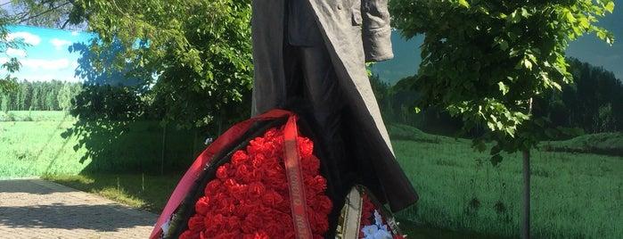 Новый Памятник Генералу Корнилову is one of สถานที่ที่ Георгий ถูกใจ.