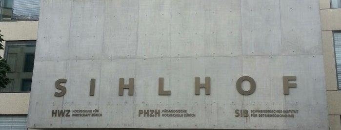 HWZ Hochschule für Wirtschaft Zürich is one of Sven : понравившиеся места.