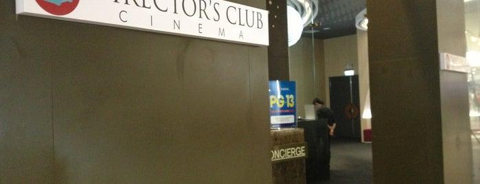 Director's Club Cinema is one of สถานที่ที่ Fidel ถูกใจ.