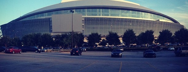 AT&T Stadium is one of Stadiums.