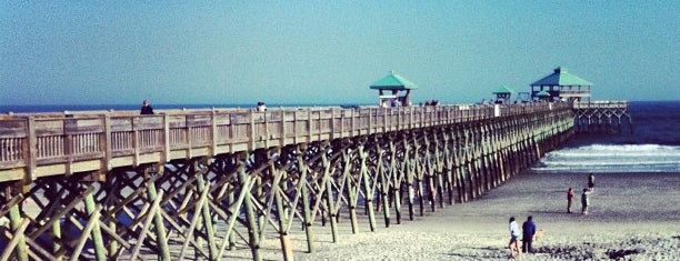 Folly Beach Pier is one of Gespeicherte Orte von Bulldog Tours.