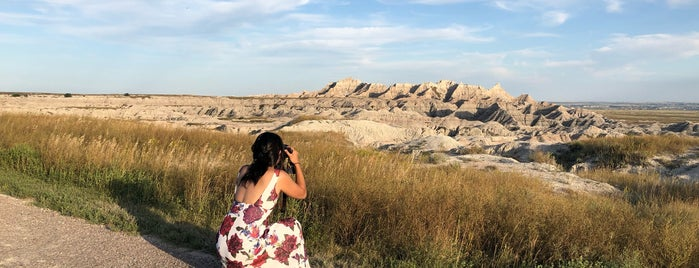 Badlands White River Valley Overlook is one of Great American Road Trip.