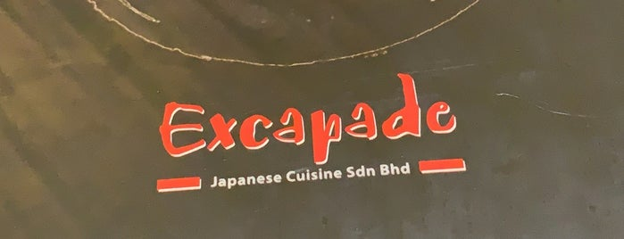 Excapade Sushi is one of Locais curtidos por S.