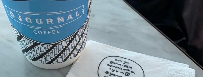 Djournal Coffee is one of Locais curtidos por Chuck.