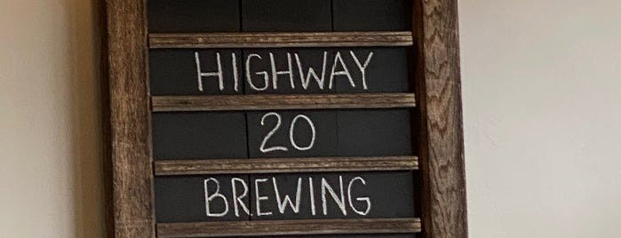 Highway 20 Brewing Company is one of Chicago area breweries.