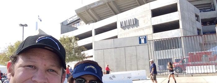 SDCCU Stadium is one of Posti che sono piaciuti a Guillermo.